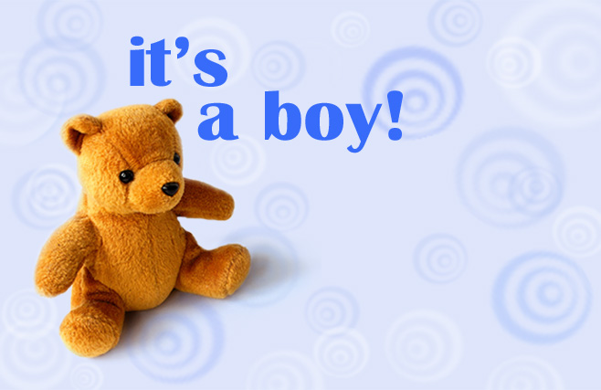 Congratulations (It's a Boy) - Teddy Bear