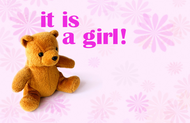 Congratulations (It's a Girl) - Teddy Bear