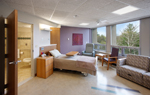 Hospice Care Unit Room